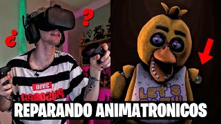FNAF: HELP WANTED EN REALIDAD VIRTUAL 4 | Robleis