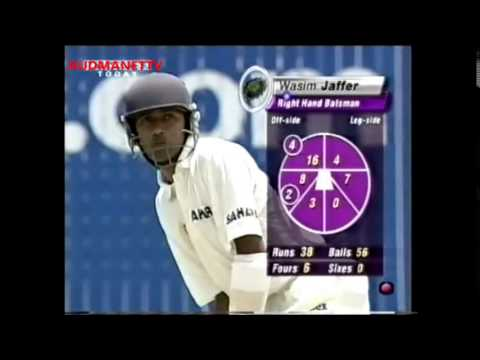 Rahul Dravid and Wasim Jaffer hammers West Indies attack 2001