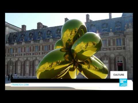 Jeff Koons sur France 24 !