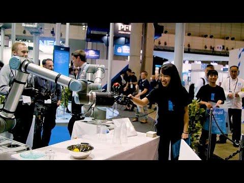 شاهد: محاكاة للحياة عام 2030 في معرض اليابان للتكنولوجيا  - 15:56-2019 / 10 / 16