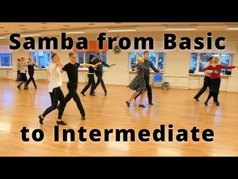 Workshop - Samba from Basic to Intermediate | Dance Exercises, Steps and Tips