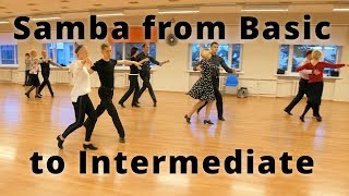 Workshop - Samba From Basic To Intermediate   Dance Exercises, Steps And Tips