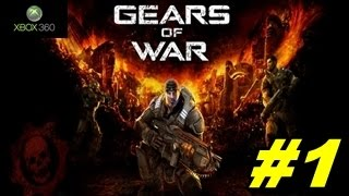 GEARS OF WAR (Xbox360) | Gameplay en español | Capitulo 1