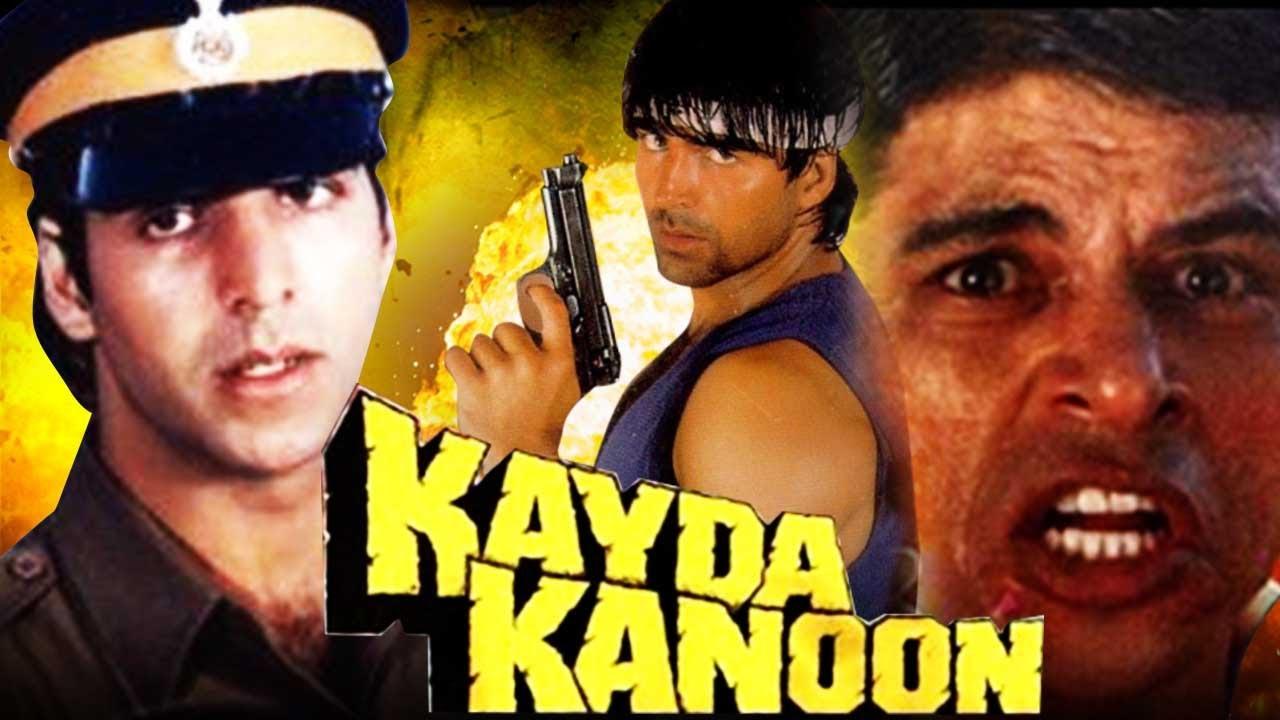 Download Kayda Kanoon (1993) Full Hindi Movie   Akshay Kumar, Ashwini Bhave, Sudesh Berry