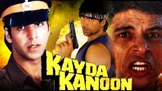 Kayda Kanoon (1993) Full Hindi Movie | Akshay Kumar, Ashwini Bhave, Sudesh Berry