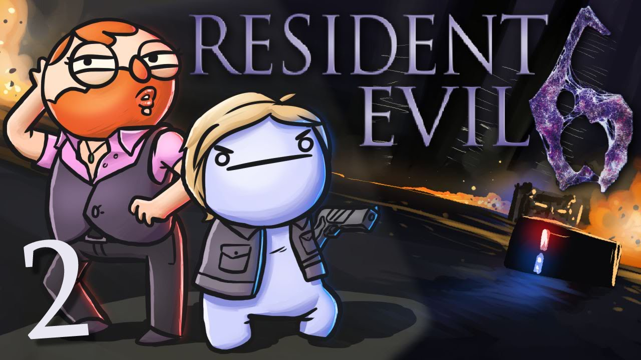 Resident Evil 6 /w Cry! [Part 2] - Higher Learning - YouTube