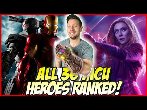 All 36 MCU Heroes Ranked From Worst to Best