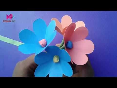 How to make a Kusudama Paper Flower | Easy origami Kusudama for ... | 360x480