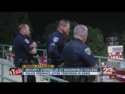 Security on high alert at Bakersfield College