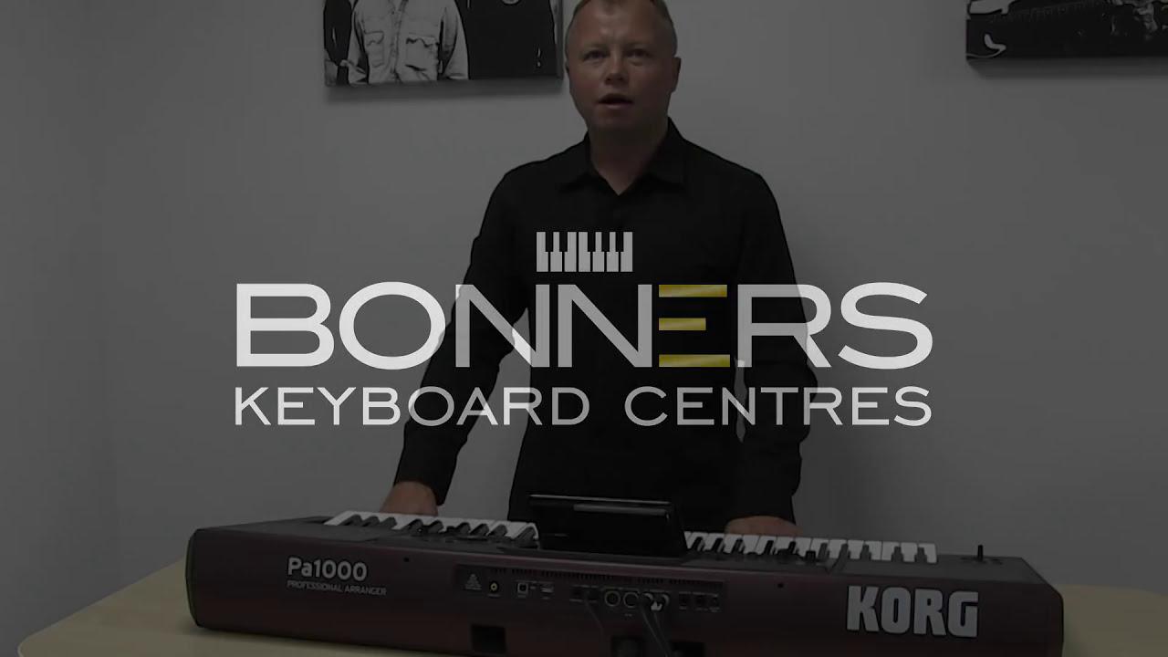 Buy Korg, Arranger Keyboard PA-1000 Online at Best Price