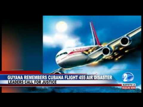 GUYANA REMEMBERS CUBANA FLIGHT 455 AIR DISASTER
