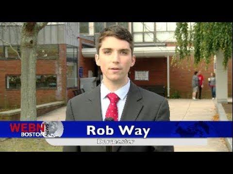 Boston Mayor Marty Walsh Casts His Ballot