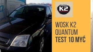 Blog K2: Test wytrzymałości wosku K2 Quantum