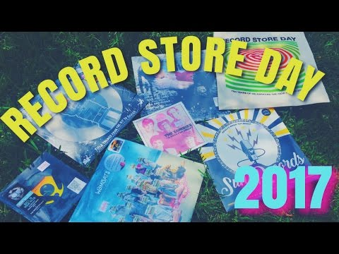 RECORD STORE DAY + HAUL | 2017