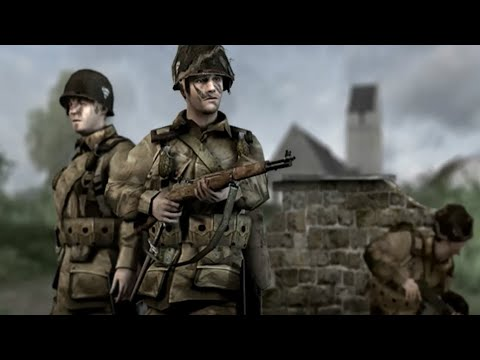 Foucarville Blockade - Brothers in Arms: Road to Hill 30 Game play |