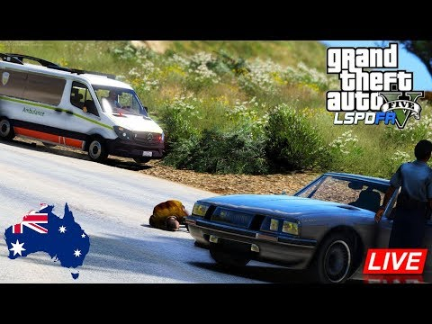 GTA 5 - Emergency 000 - Tasmania Ambulance Patrol
