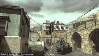 MW3 - nice throwing knife kill?