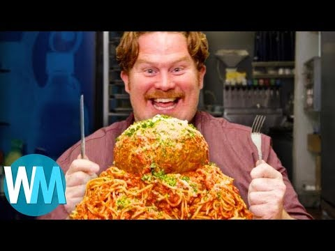 Top 10 Epic Man v. Food Challenges