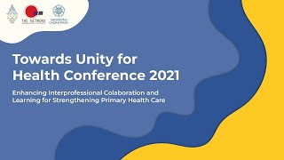 Press Conference Towards Unity For Health (TUFH) 2021
