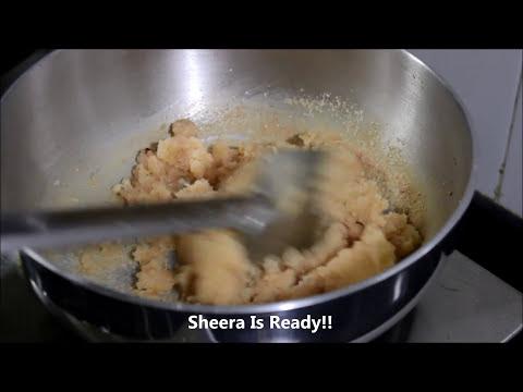 Easy RAVA SHEERA Recipe - Make within 5 minutes.