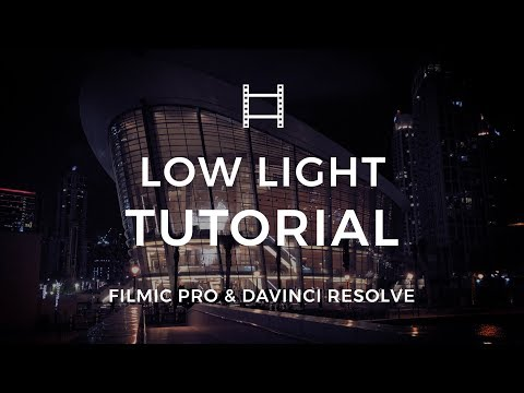 How to Shoot Low Light iPhone Video with FiLMiC Pro v6 and DaVinci Resolve