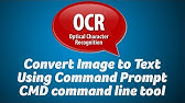 Extract text from images with Tesseract OCR on Windows - YouTube