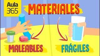 ¿Cuáles son las propiedades de los materiales? | Videos Educativos para Niños