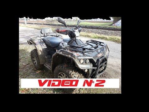 2/ VIDEO Quad HYTRACK 710 & MASAI Sortie 29.01.15