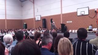 Jessie J - Mamma Knows Best (Golden Grove High School graduation performance by Kym Miaco)