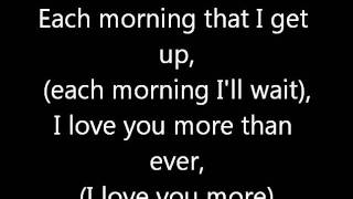WESTLIFE- MOMENTS LYRICS.wmv