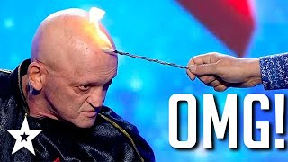 SHOCKING AUDITION... Literally! Man Conjure FIRE & ELECTRIC! | Got Talent Global
