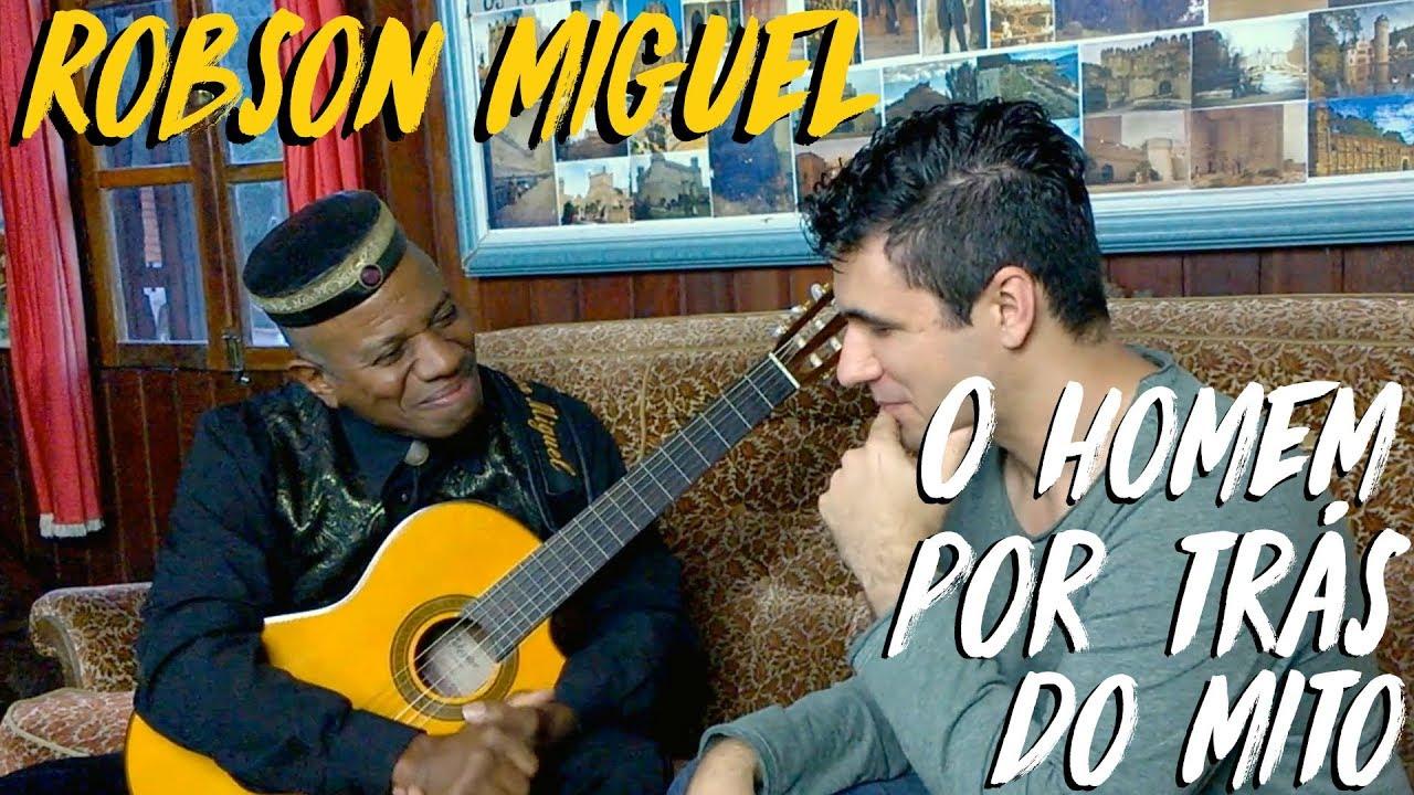 Robson Miguel, o homem por trás do mito (Entrevista)