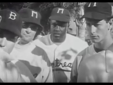 The shattering of the color barrier a jackie robinson story