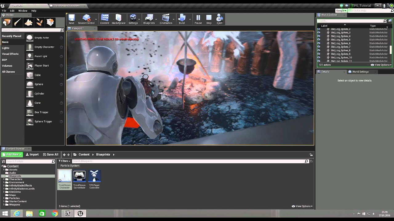 Unreal Engine 4 Add sound to the weapon easy FPS -TPS game