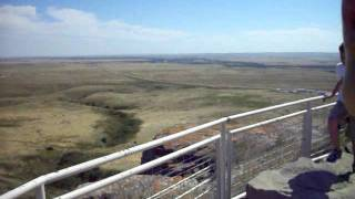 "World Heritage ""Head-Smashed-In Buffalo Jump"" Aug10,2011"