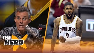 Kyrie Irving has the hallmarks of spoiled child syndrome for wanting to leave LeBron | THE HERD
