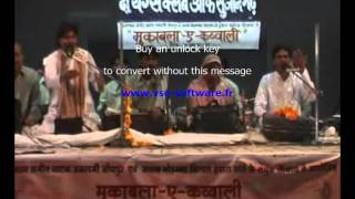 Manak Jayanti of The Youngs Club of Sujangarh- Muqabla e Qawwali- PART-I (Chadta Suraj Dheere)