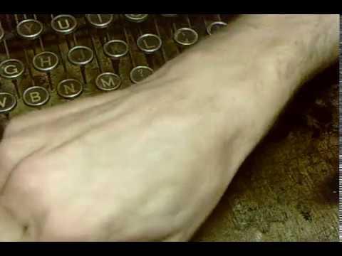 make your own vintage typewriter keys, quick summery