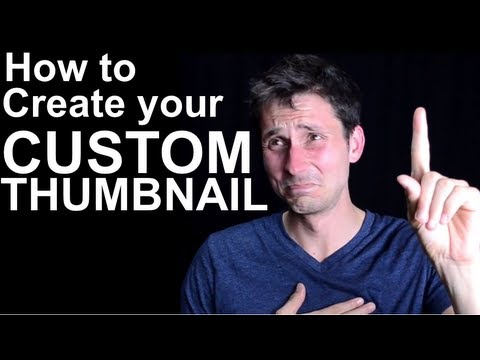 how to get custom thumbnails on youtube without partnership