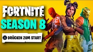 Fortnite SEASON 8 ist DA 😱 Battle Pass, Trailer, Map, Alle Skins & Erdbeben Live Event