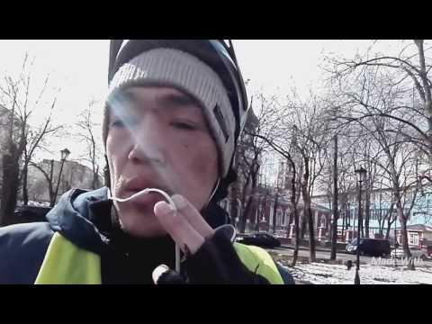UBER EATS Bicycle Moscow vlog 2