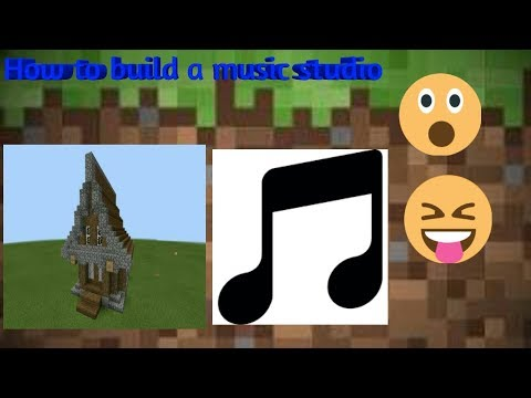 Minecraft how to build a music studio