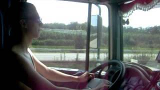 trasa Szwajcaria kierowanie kierowca daf xf 95.430 praca kierowcy