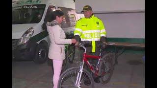 Mujer que grabó cómo le hurtaron bicicleta en Bogotá recibió una noticia buena y dos malas