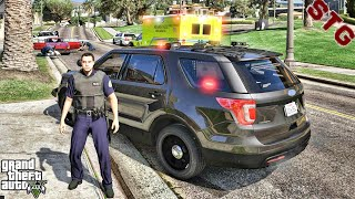 2020 FORD EXPLORER| MIAMI'S UNMARKED PATROL!!!| #118 (GTA 5 REAL LIFE PC POLICE MOD)