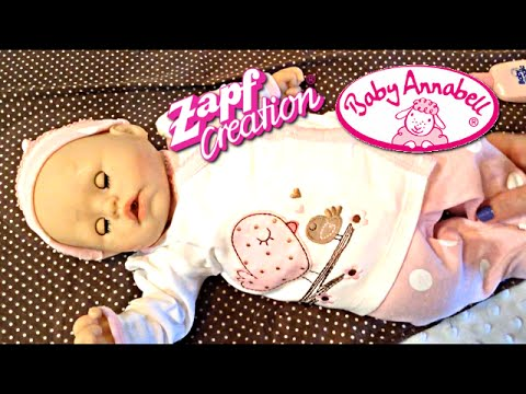 Zapf Creations Baby Annabell Doll Feeding And Changing
