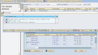 SAP MM d'approvisionnement Spécial démo