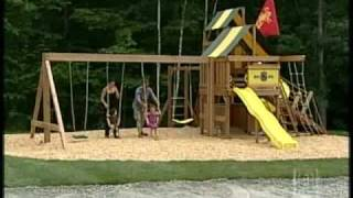 Firefighters Build Handmade Playground
