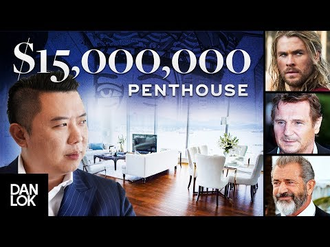 Tour of My $15 Million Dollar Penthouse - Dan Lok Headquarters