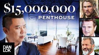 Tour of My $15 Million Dollar Penthouse - Dan Lok Headquarters